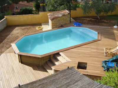 Piscine hors sol construction piscine aubagne for Piscine composite hors sol