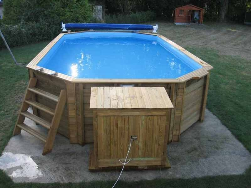 Installation de piscine hors sol en bois marseille for Tarif construction piscine