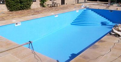 piscine peinture